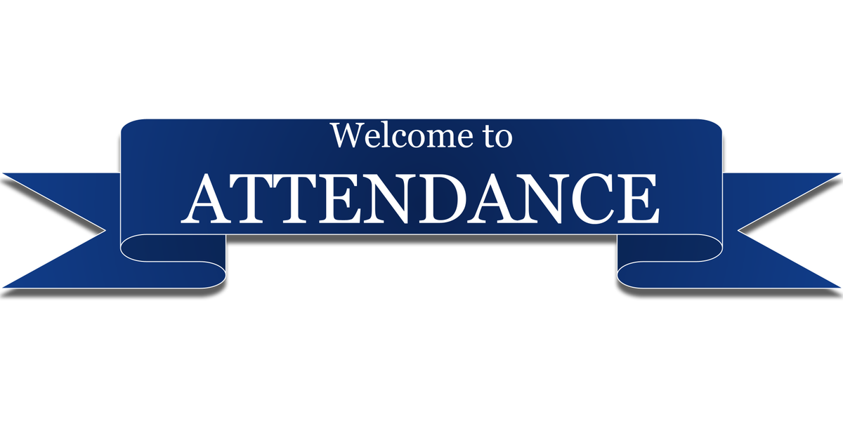 welcome attendance page