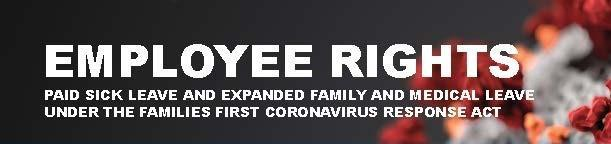 employee rights for coronavirus logo