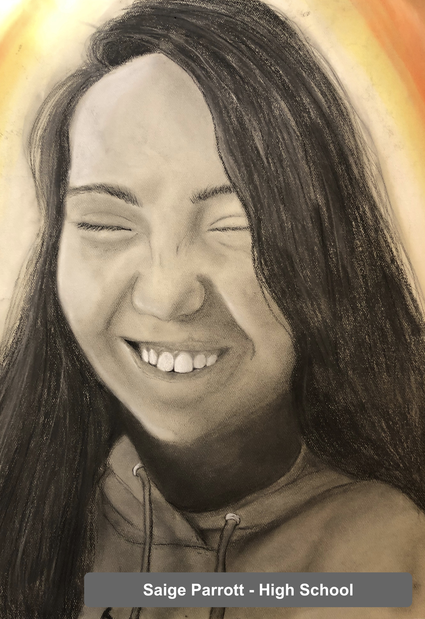 Saige Parrott - Art Project - High School