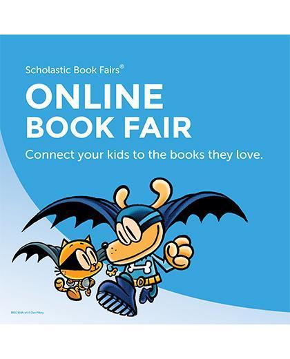 Online Scholastic Book Fair!