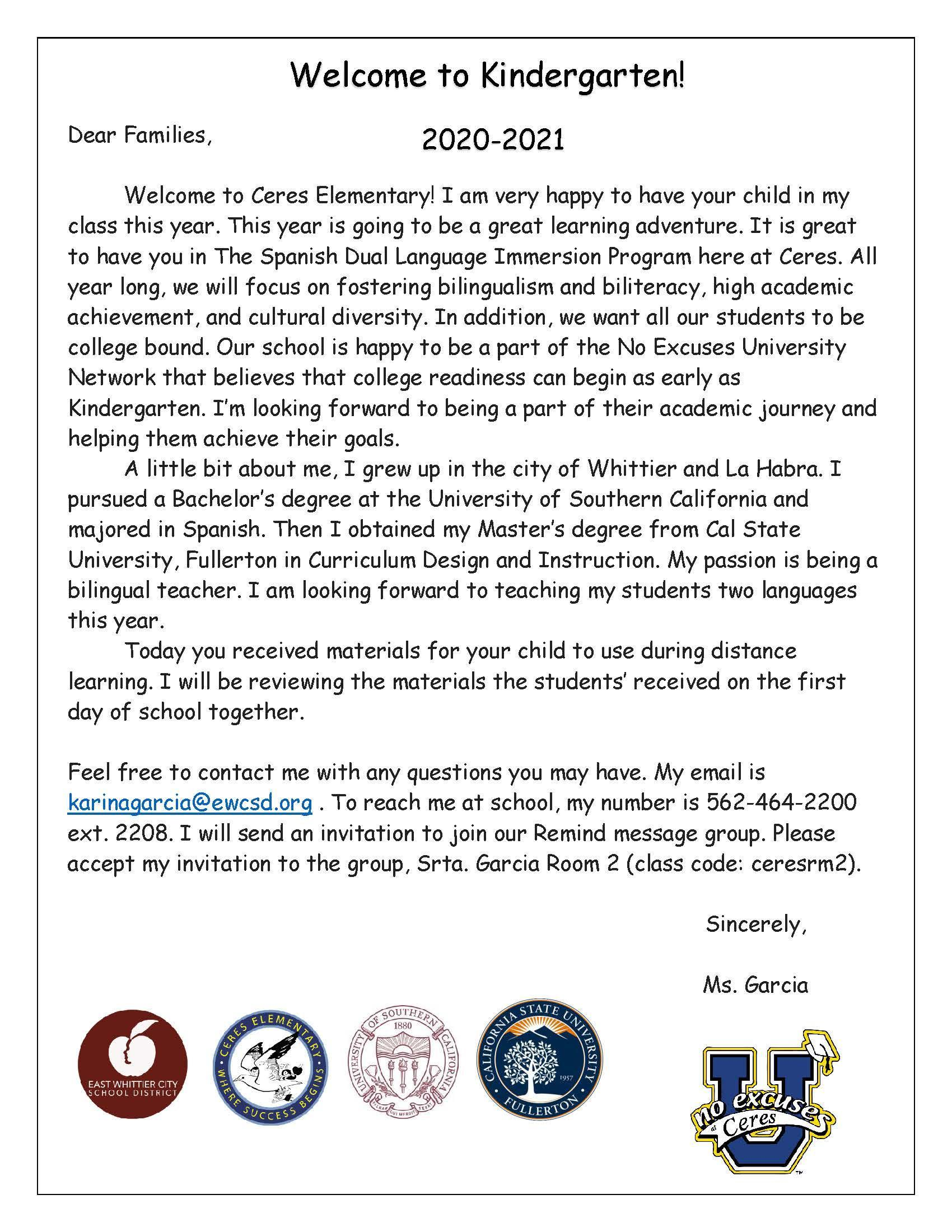 Welcome Letter to Parent_Page_2