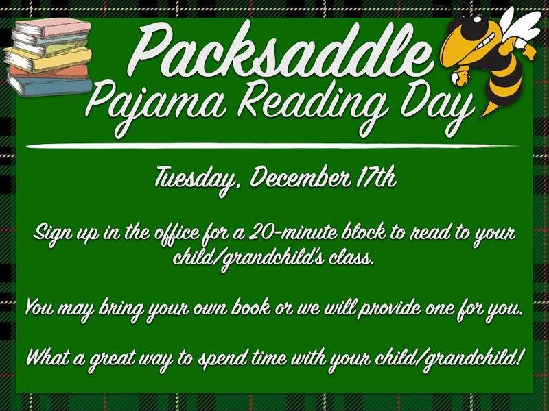 Pajama Reading Day! Featured Photo