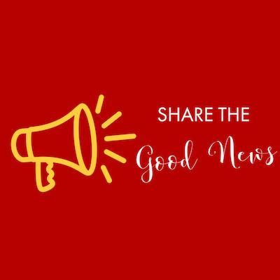 Share the Good News logo