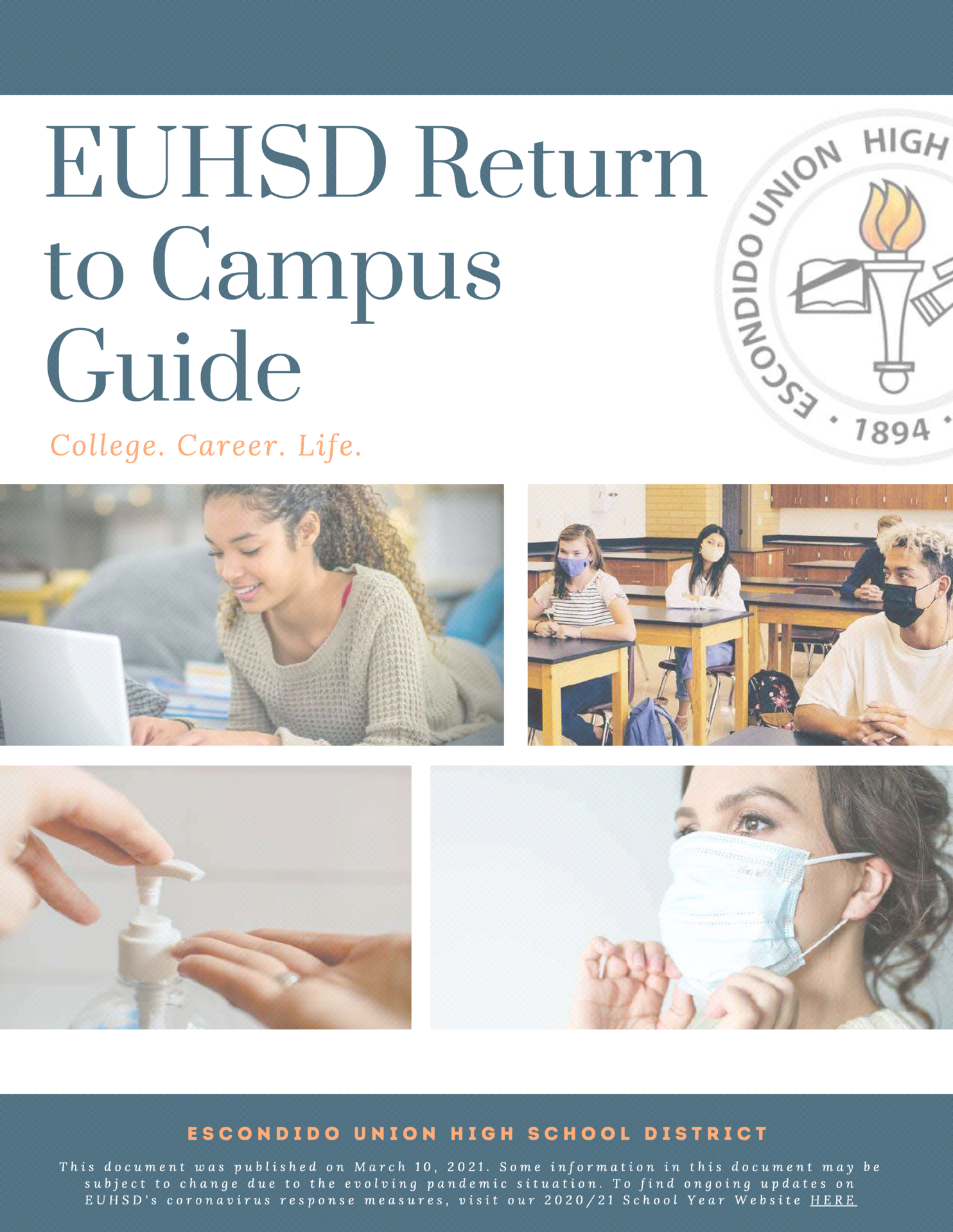 return to campus guide