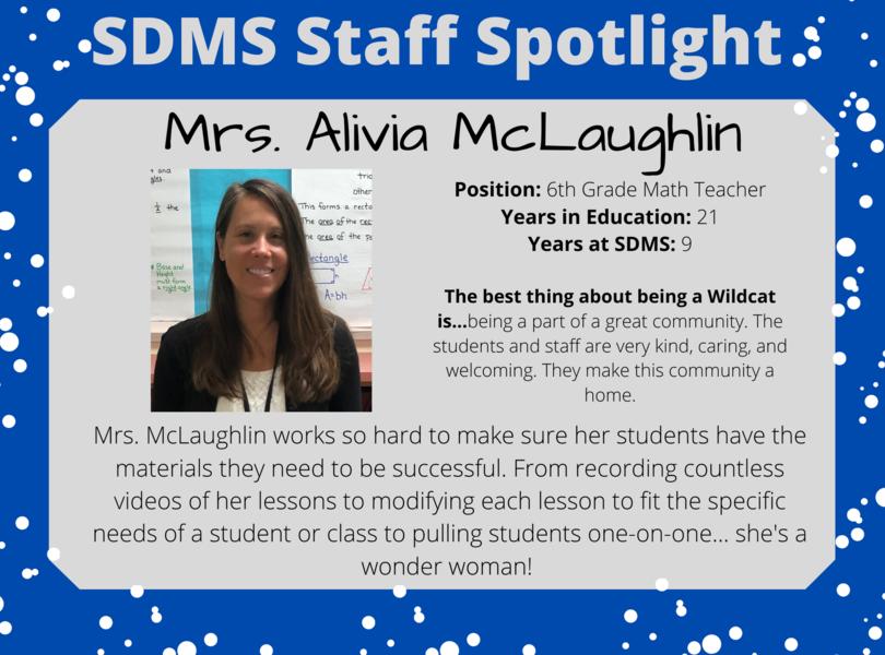 Staff Spotlight - Alivia McLaughlin