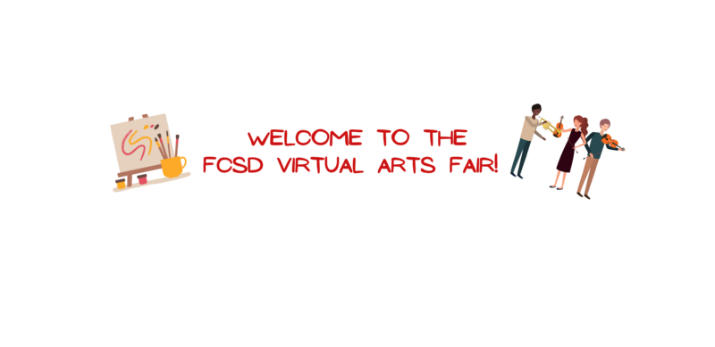 Image announcing the Arts Fair.