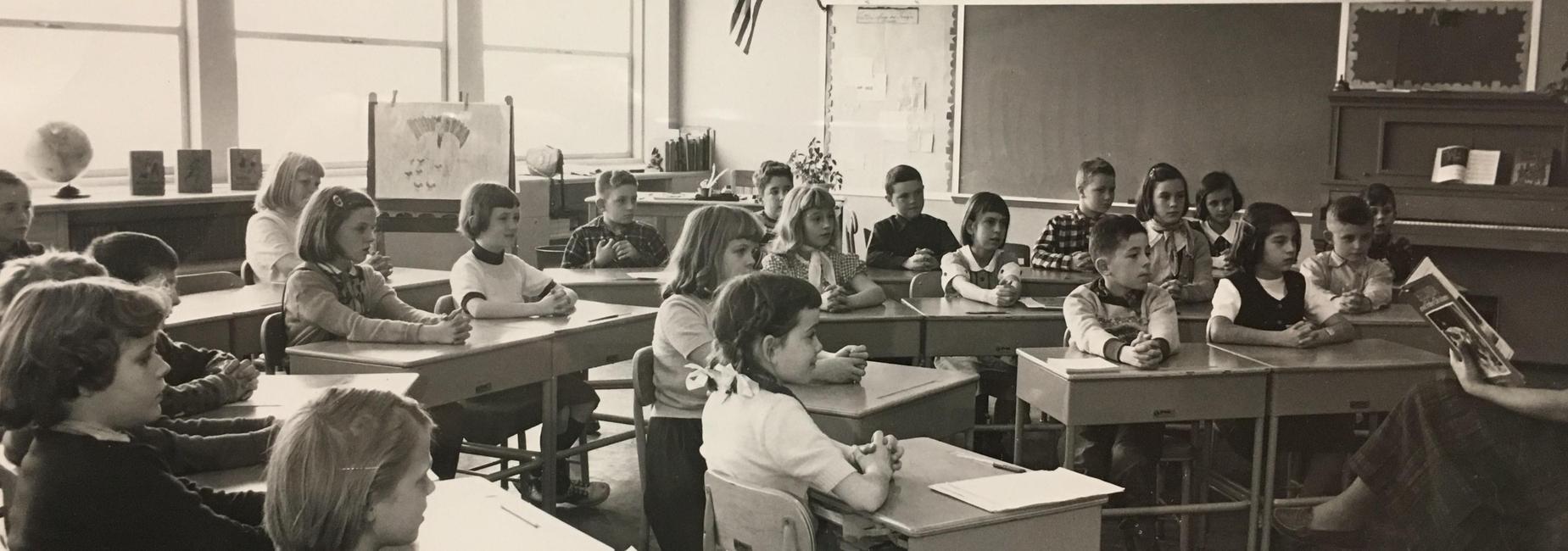 School photo circa 1950-60's