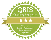Oregon's Quality Rating and Improvement System (QRIS) Logo