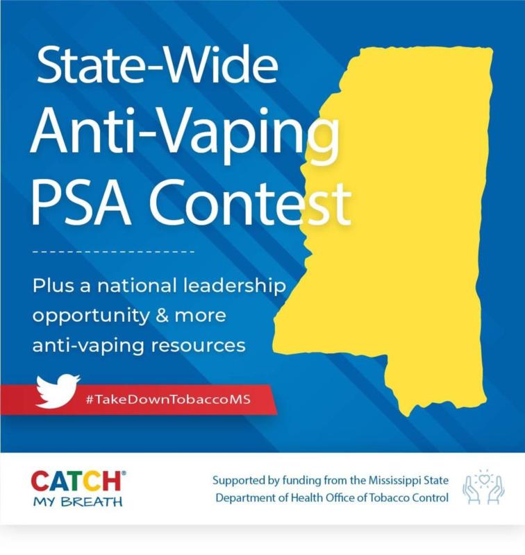 Anti-Vaping PSA Contest Flyer