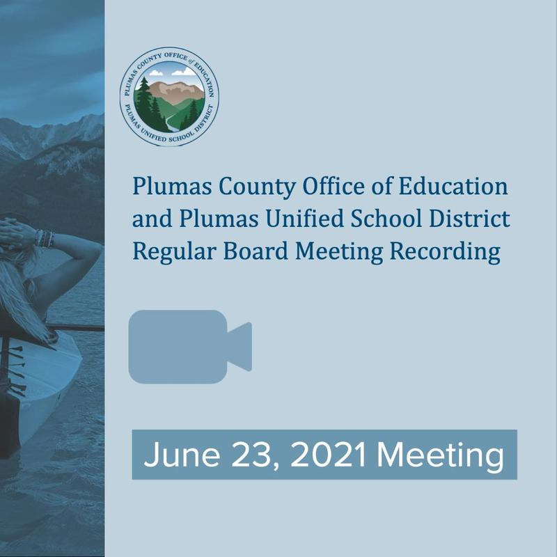 Video recording of the June 23 2021 PCOE/PUSD Board Meeting