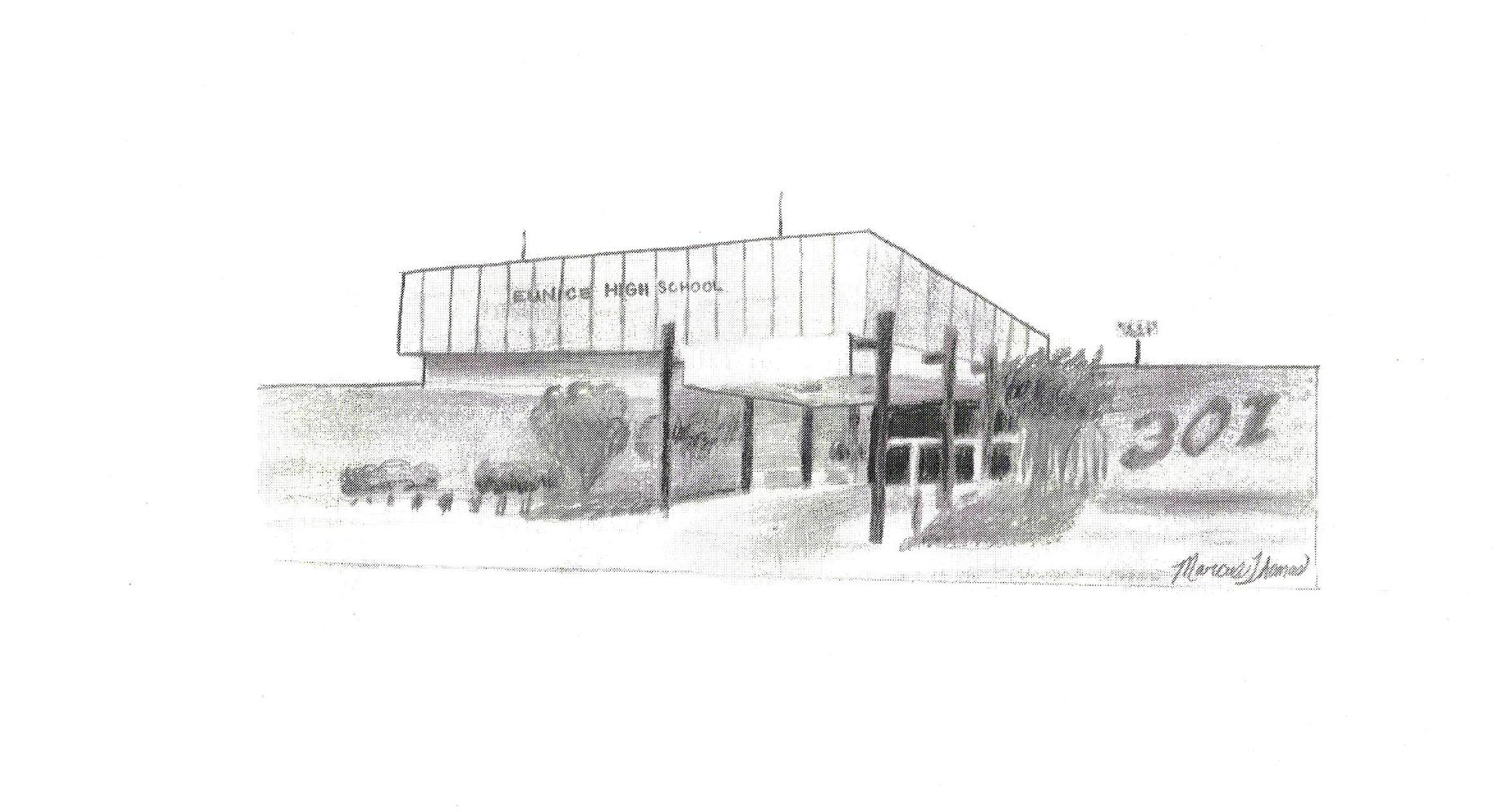 Drawing of the school