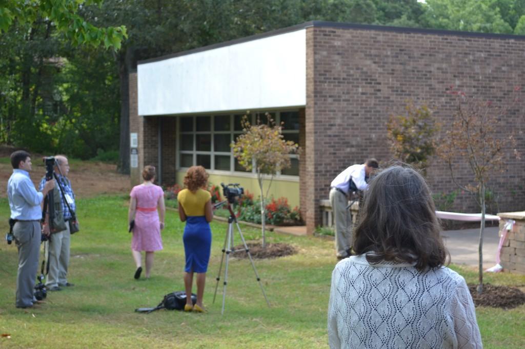 Dedication of Maggie's Garden