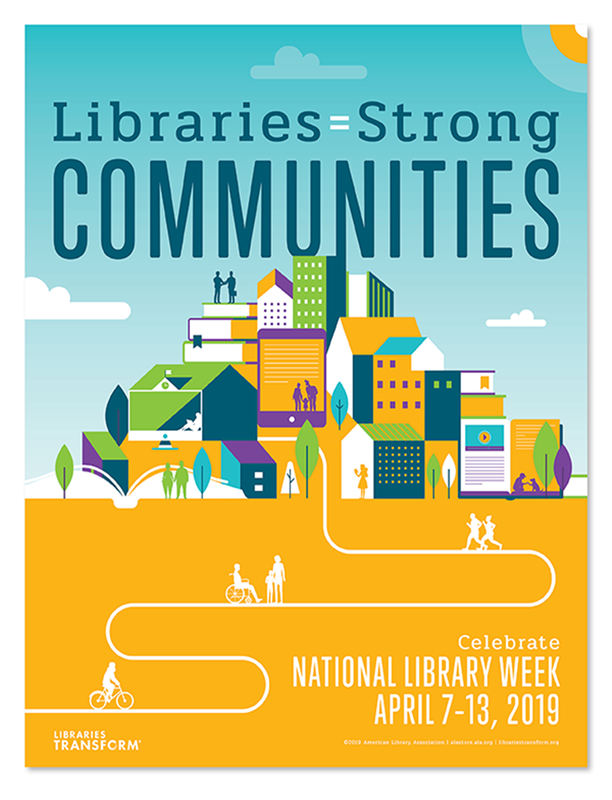 Library Week Flyer