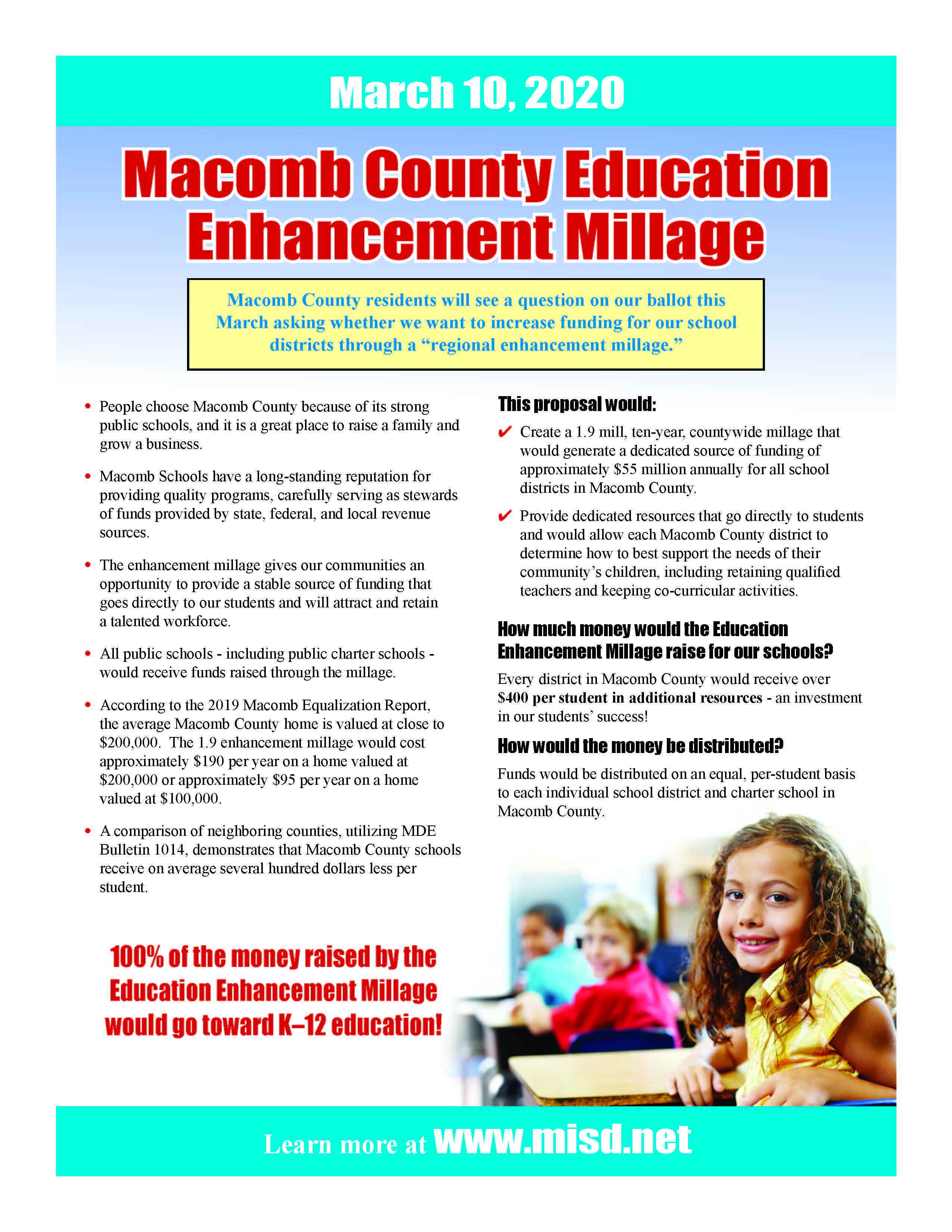 Macomb County Enhancement Millage