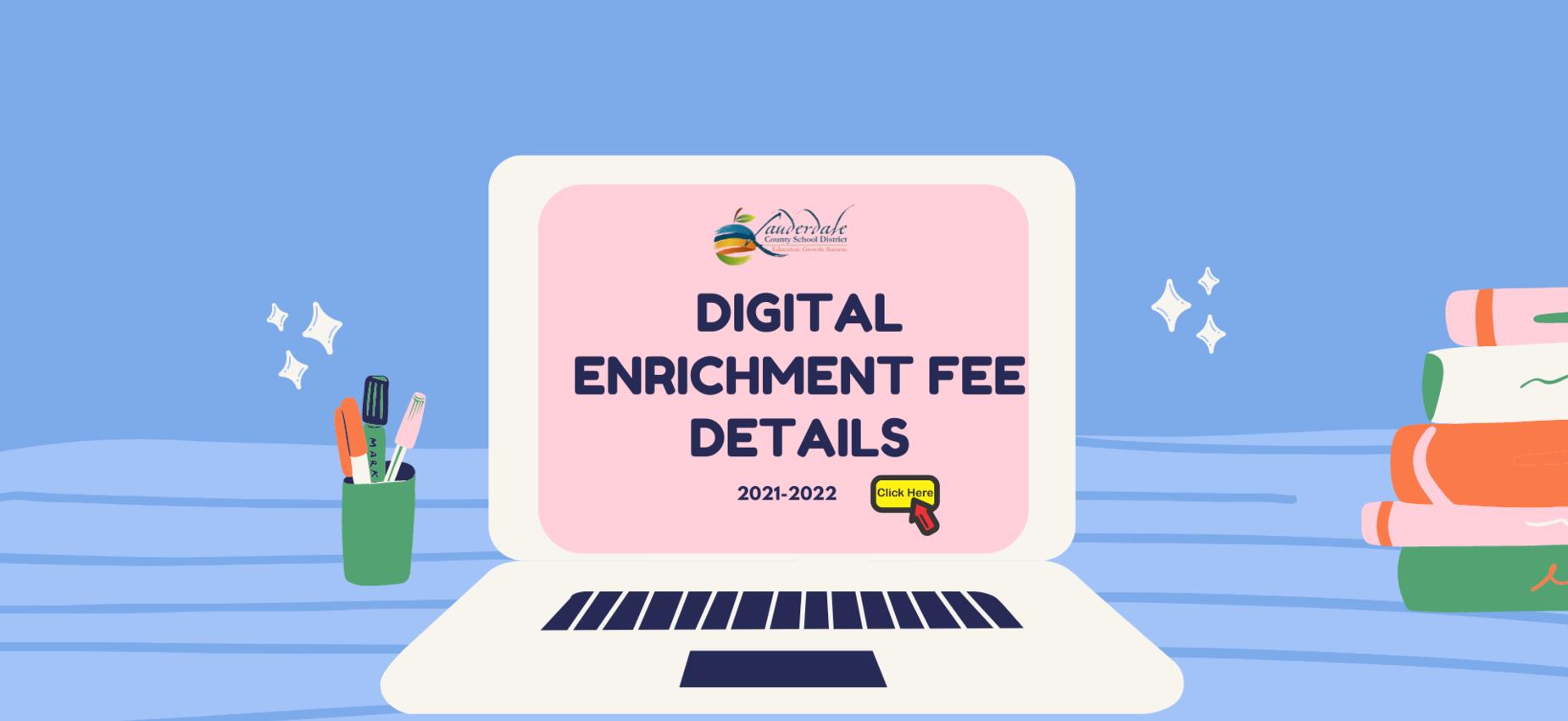 Digital Enrichment Fee Details Graphic