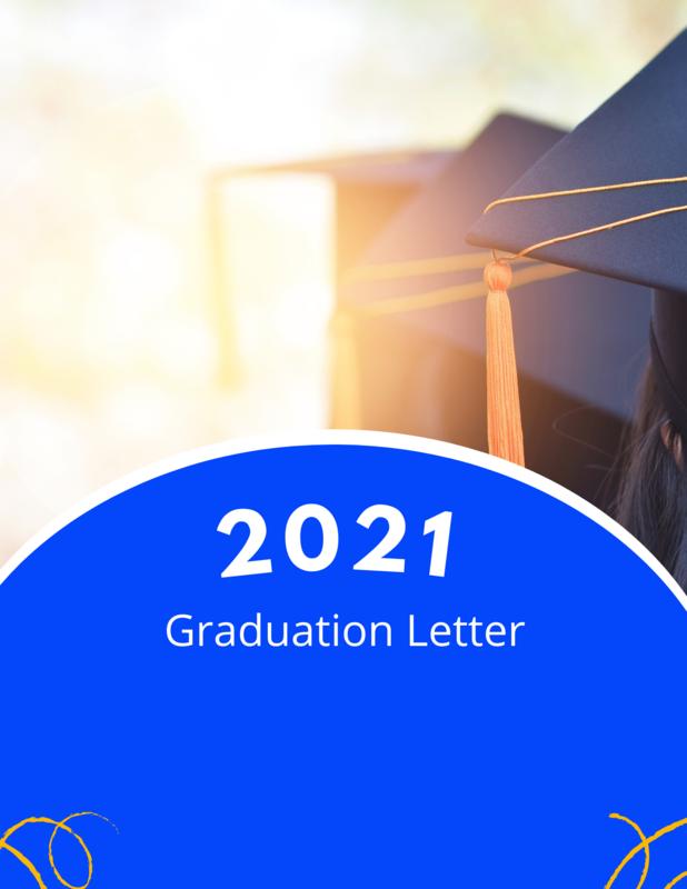 2021 Graduation Letter Featured Photo
