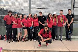 Trojans tennis team