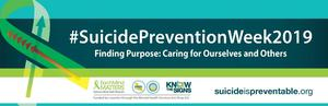 Suicide Prevention Week Banner