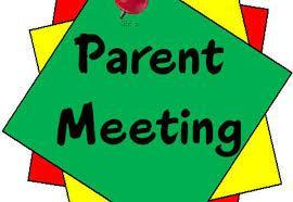 Parent Meeting - Thursday at 6:00 Featured Photo