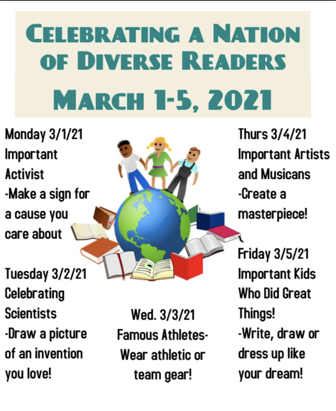 Flyer for diverse readers
