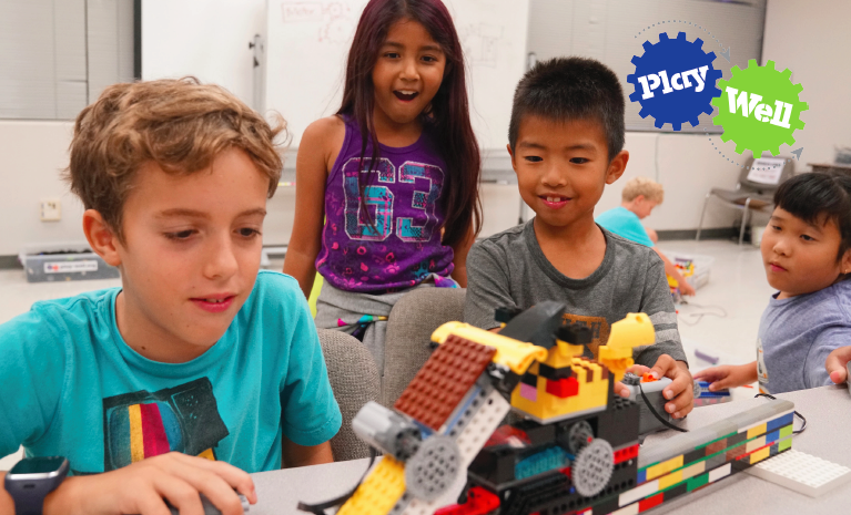 feature image for STEM Engineering with LEGO program