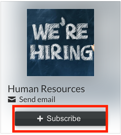 How to Subscribe to Job Postings – Human Resources – Alcoa
