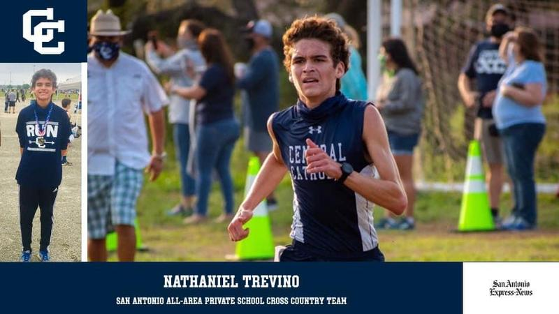 Trevino named to Express-News All-Area Private School Cross Country Team! Featured Photo