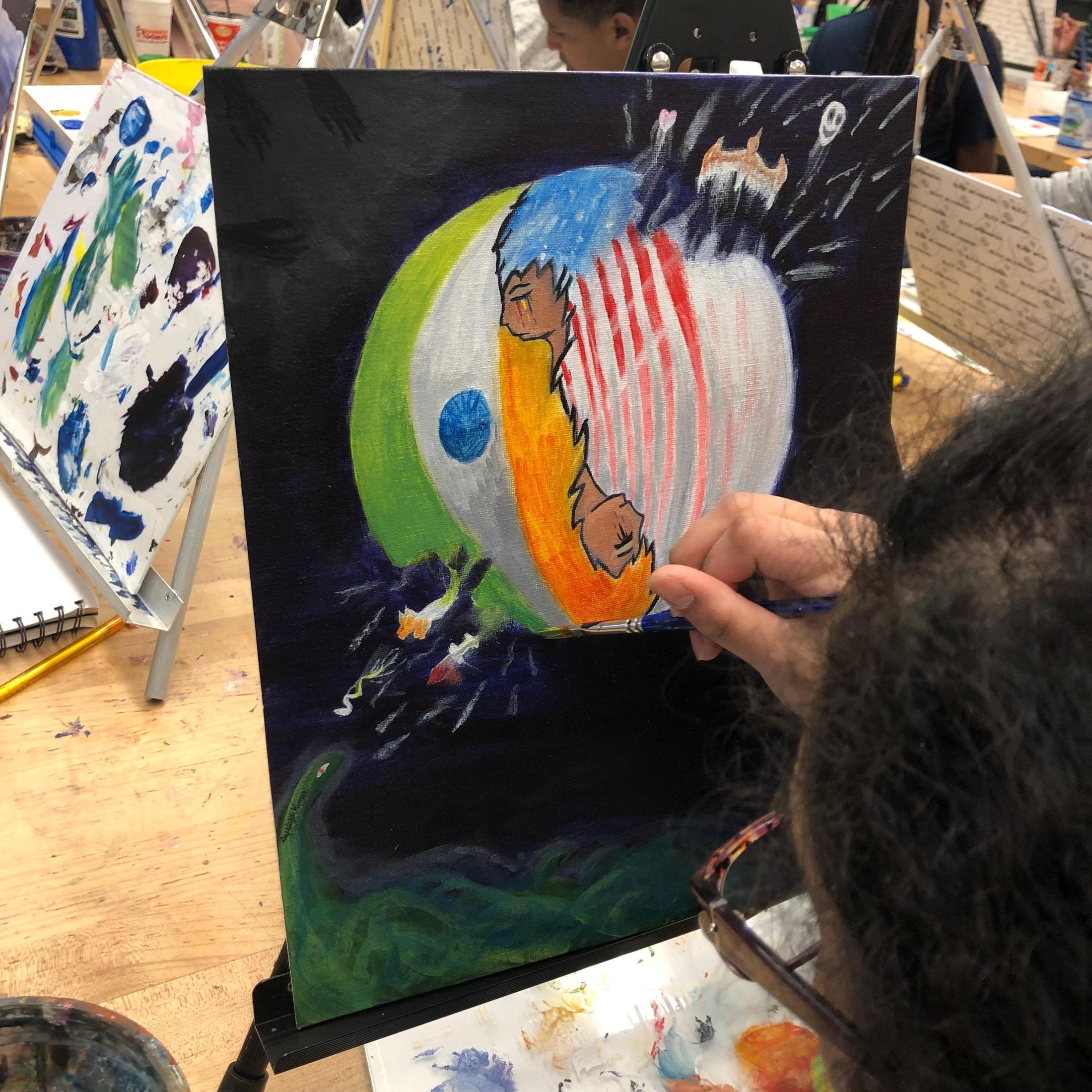 DP Visual Art Year 1 (Juniors) – Lorelei Macbeth – Amundsen
