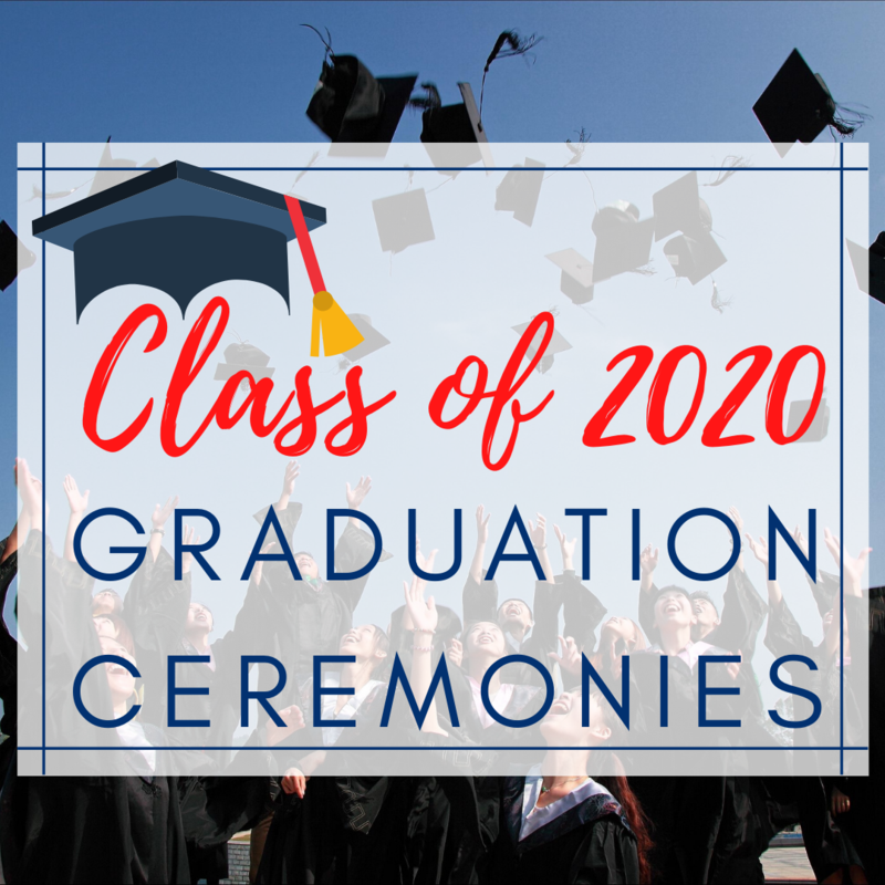 GCSS graduation graphic