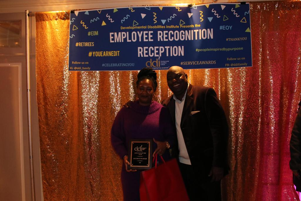 DDI's Employee of the Year and Supervisor