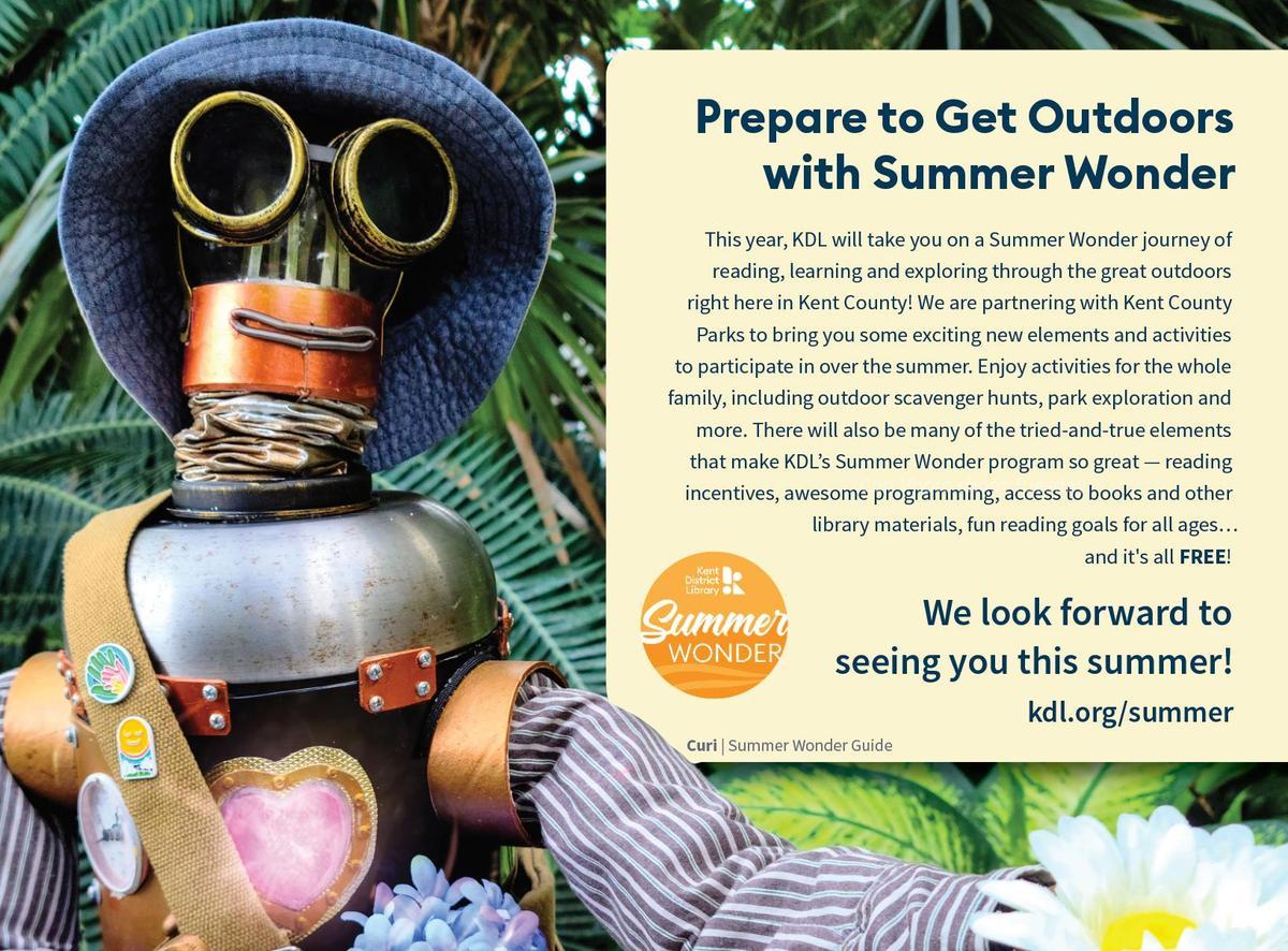 Summer Wonder ad with robot