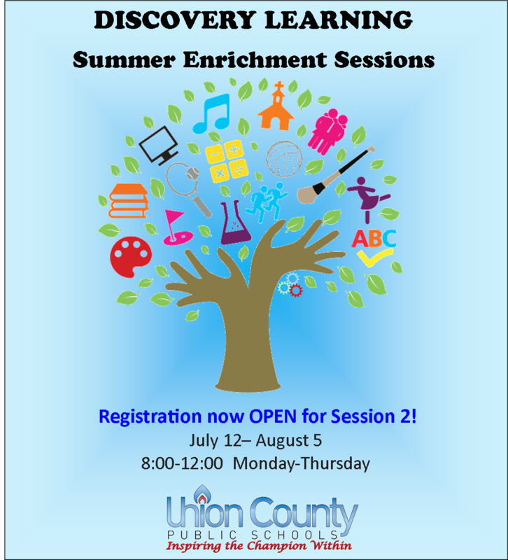 SESSION  2- Discovery Learning Summer Enrichment- REGISTRATION CLOSED Thumbnail Image