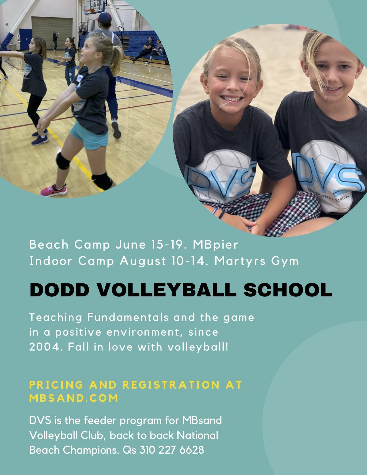 Dodd Volleyball School