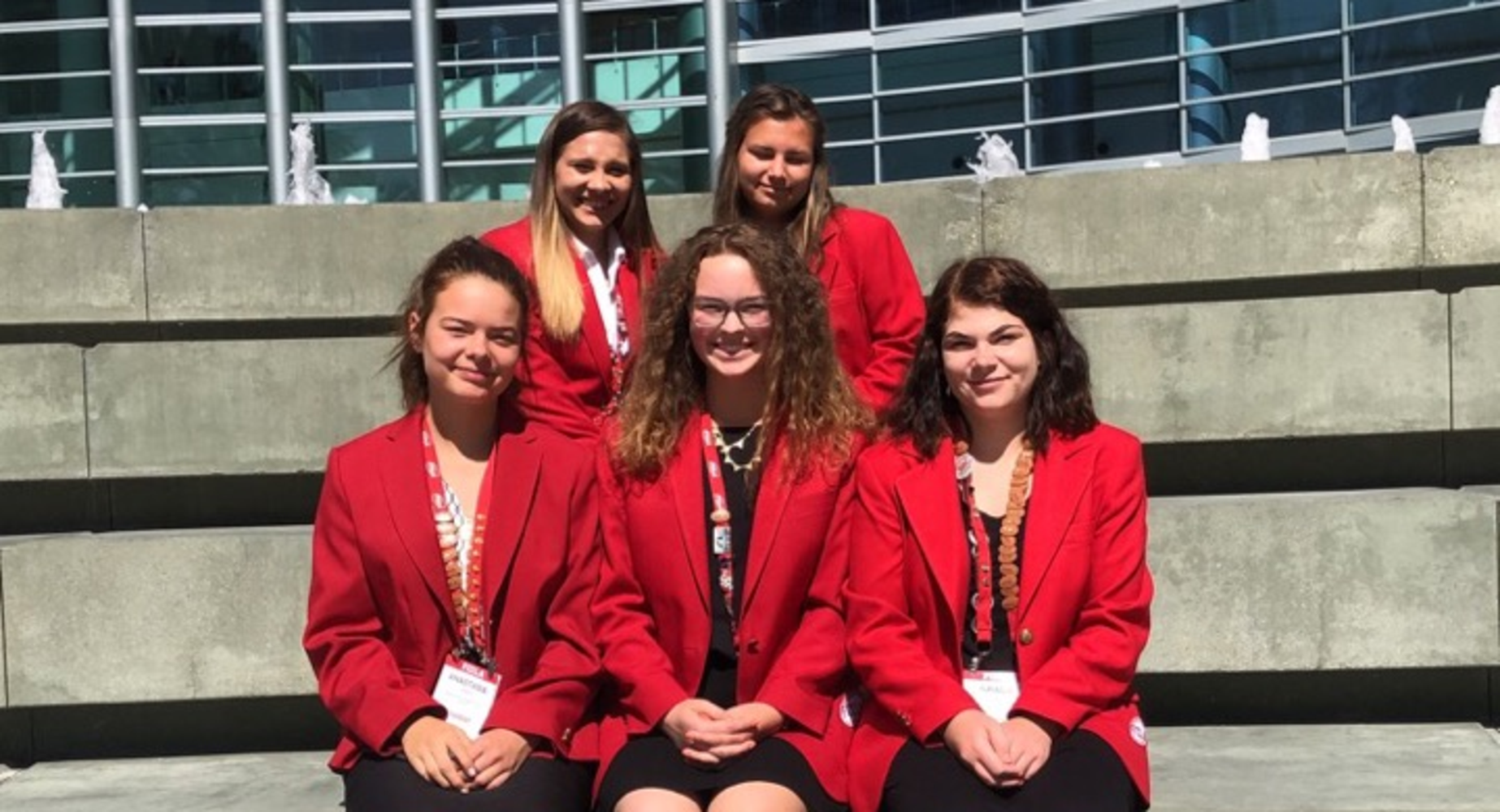 FCCLA Competition in Anaheim, CA