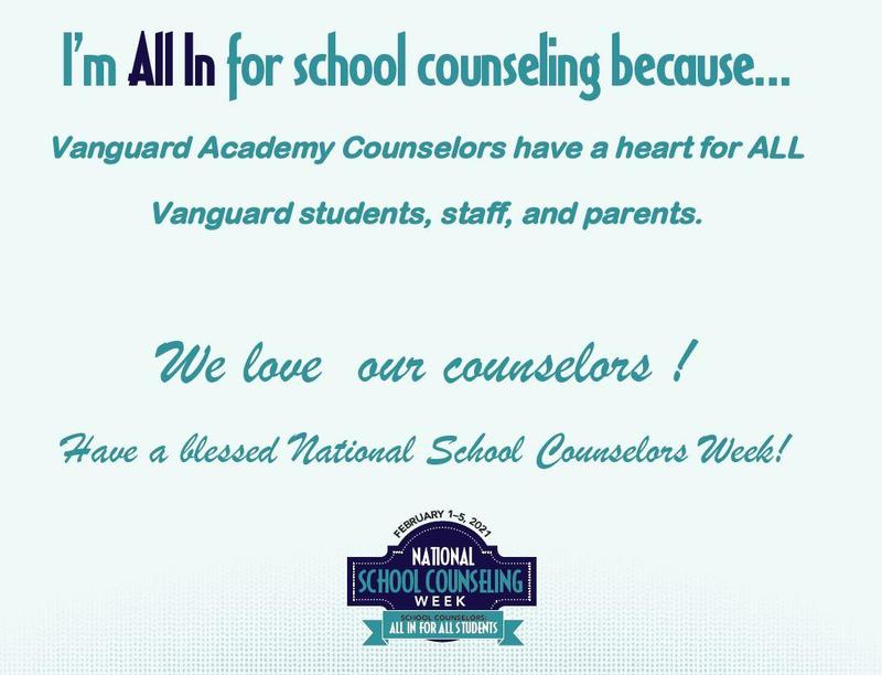 February 1-5is National School Counseling Week! Featured Photo