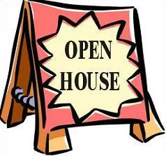 Open House Information! Featured Photo