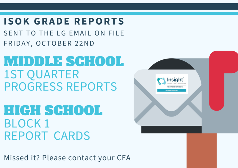 ISOK Grade Reports Featured Photo