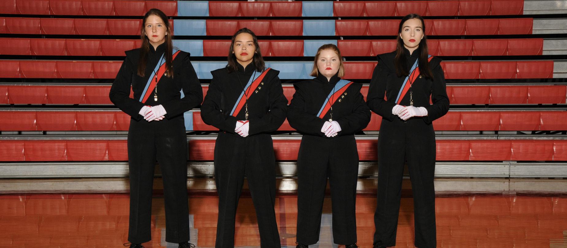 LHS Drum Majors