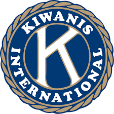 The circular Kiwanis International logo featuring a large K at the center