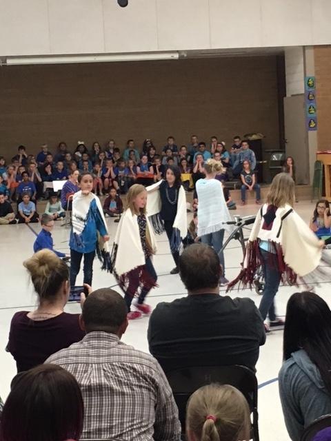 """4th Grade """"Utah"""" program 2017"""