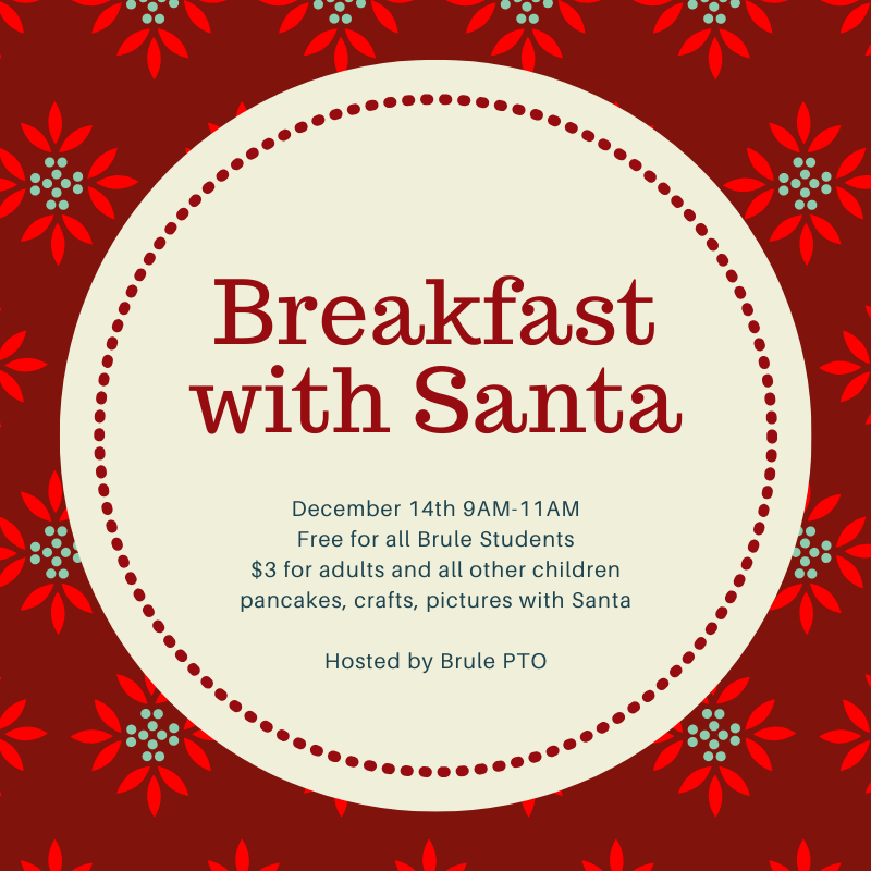 Breakfast with Santa: December 14th @ 9AM Featured Photo