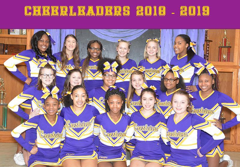 Cheerleaders 2018-2019