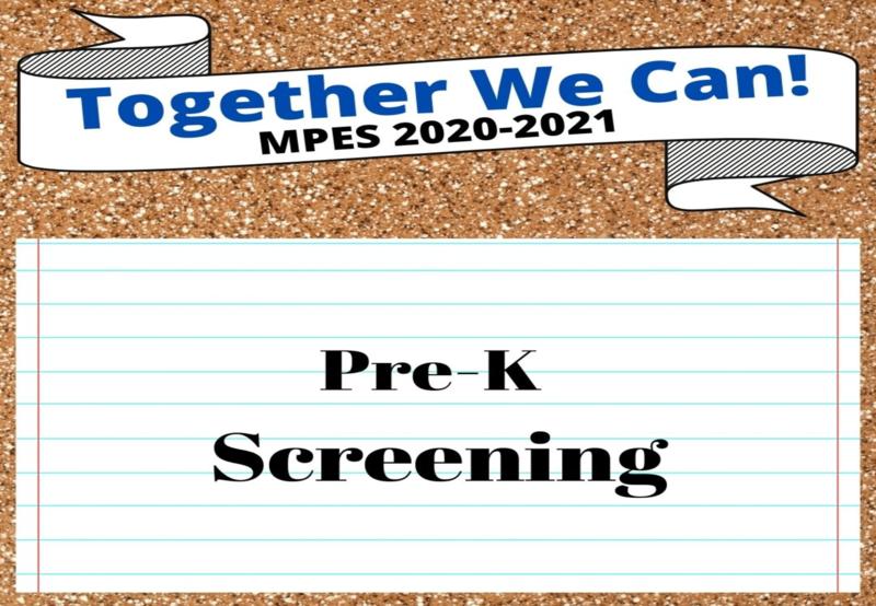 MPES Pre-K Screening Thumbnail Image