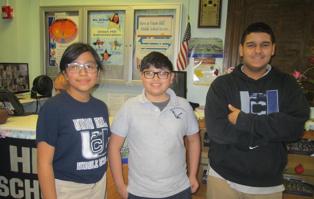 7th Grade Design winners