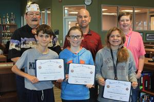 SVMS Patriot's Pen honorees 2019