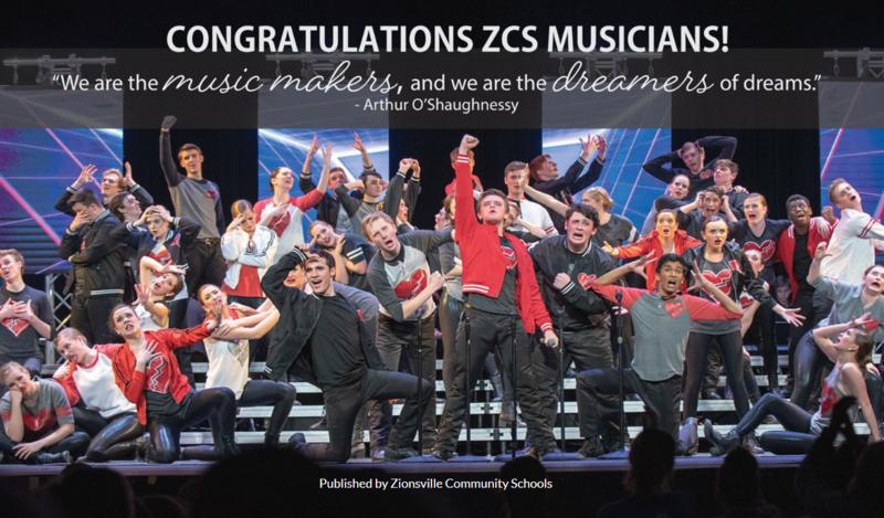 Congratulations ZCS Musicians! Thumbnail Image