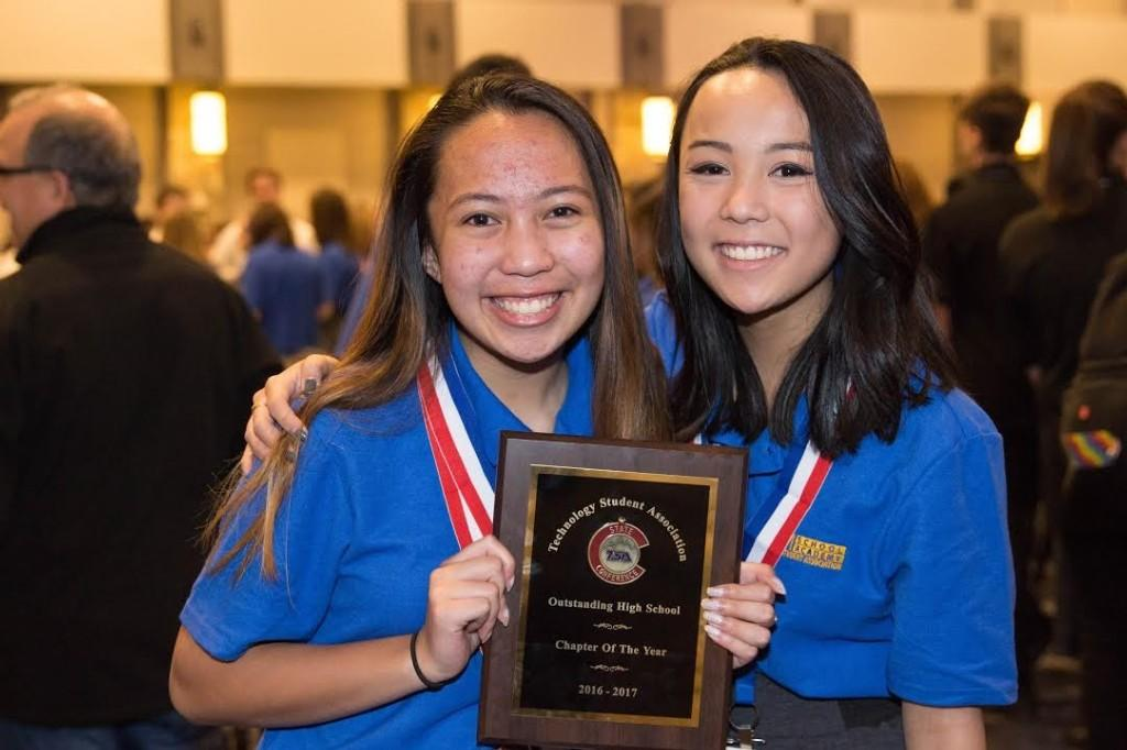 STEMS wins Chapter of the Year at TSA