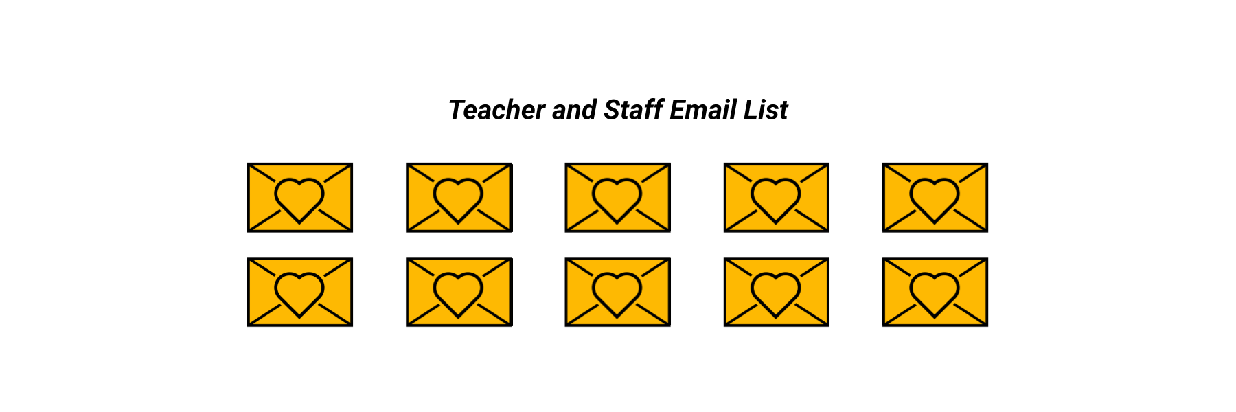 Teacher and Staff Email List