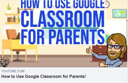 How to use Google Classroom for Parents (English)