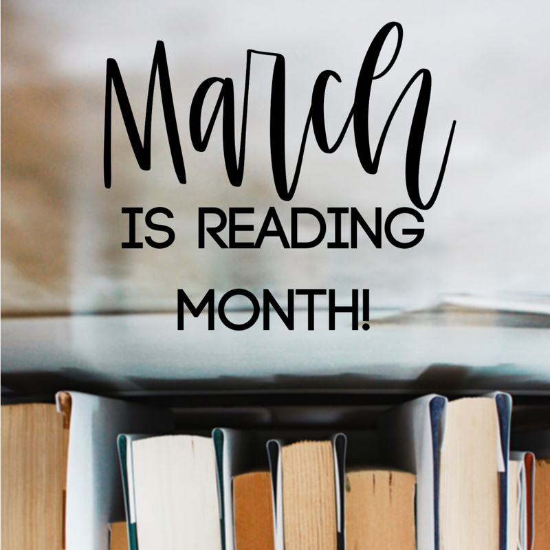 March is Reading Month! Featured Photo